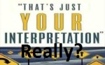 That'sYourInterpretation